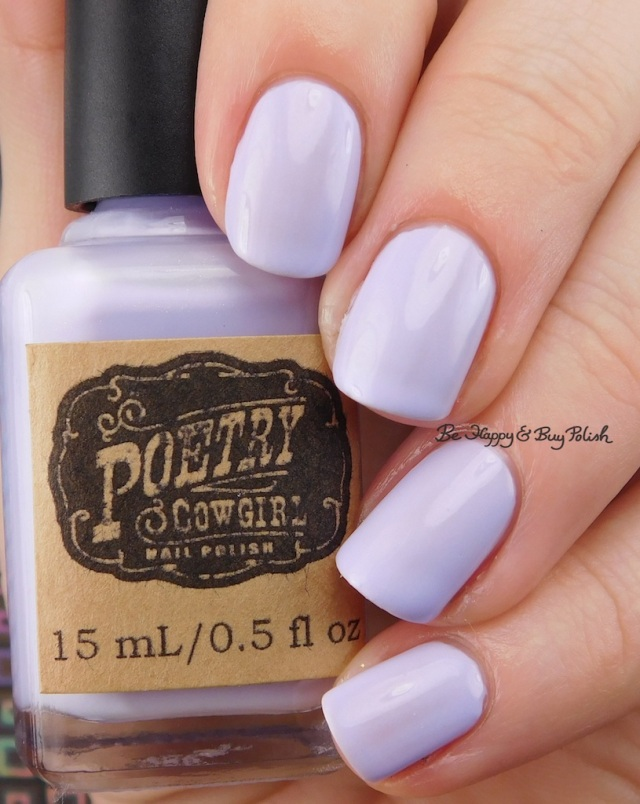 Poetry Cowgirl Nail Polish Fields of Lavender | Be Happy And Buy Polish