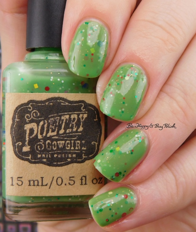 Poetry Cowgirl Nail Polish Wildflowers on the Hill   Be Happy And Buy Polish