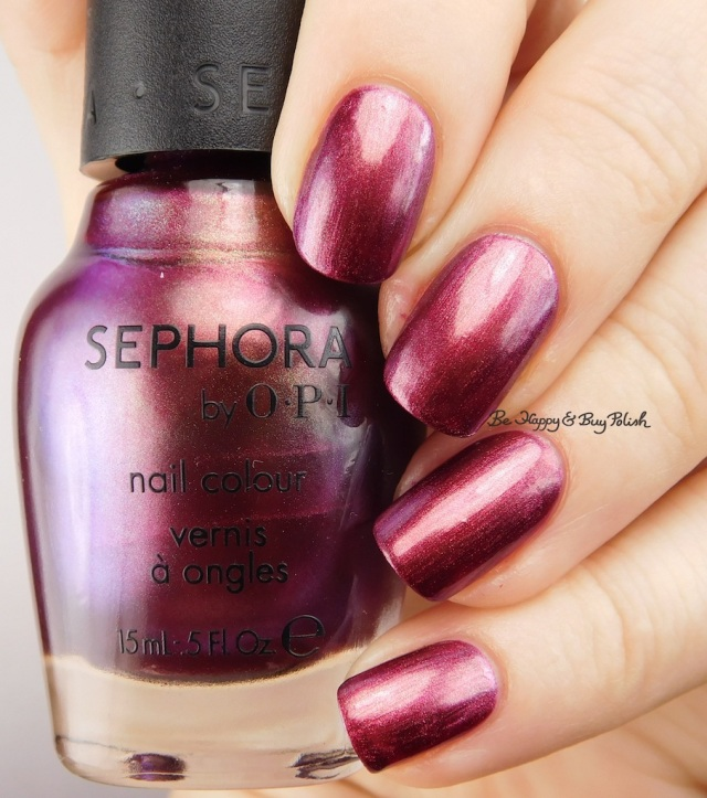 Sephora by OPI Ruby without a Cause | Be Happy And Buy Polish