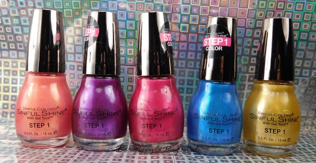 Sinful Colors Bayou Babes nail polish collection | Be Happy And Buy Polish