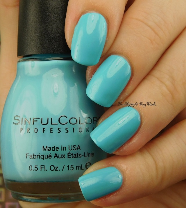 Sinful Colors Chic Chicas Fool for Azul | Be Happy And Buy Polish