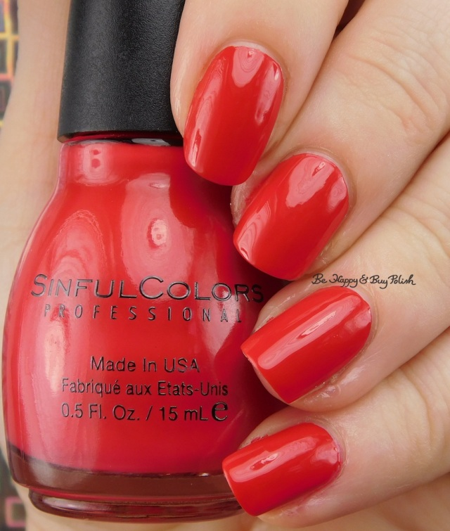Sinful Colors Rojo Your Boat | Be Happy And Buy Polish