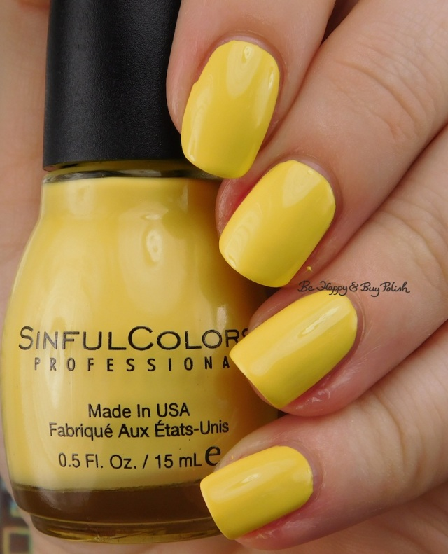 Sinful Colors Yolo Yellow | Be Happy And Buy Polish