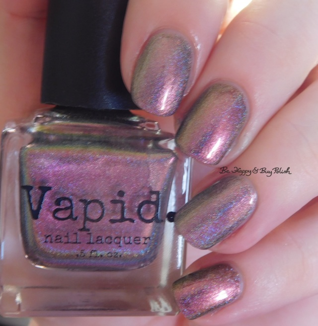 Vapid Lacquer Cyber Punk versus Great Lakes Lacquer The Centre Cannot Hold pink shift | Be Happy And Buy Polish