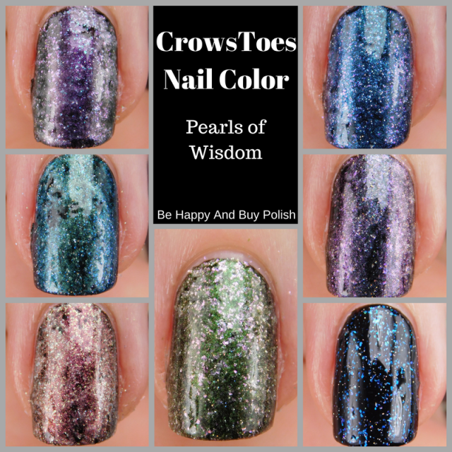 CrowsToes Nail Color Pearls of Wisdom | Be Happy And Buy Polish