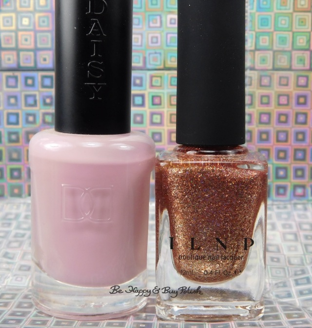 Daisy Sweet Romance and ILNP Juliette bottle shot | Be Happy And Buy Polish