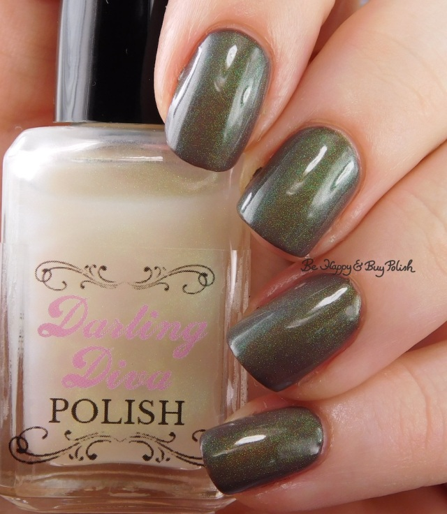 Darling Diva Polish Dragon Pee over brown | Be Happy And Buy Polish