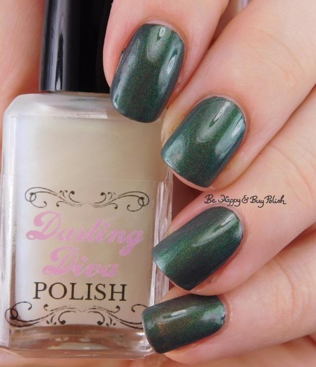 Darling Diva Polish Dragon Pee over grey | Be Happy And Buy Polish