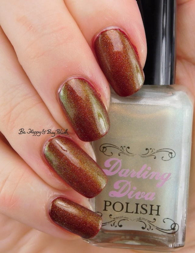 Darling Diva Polish Fairy Pee holo over red | Be Happy And Buy Polish