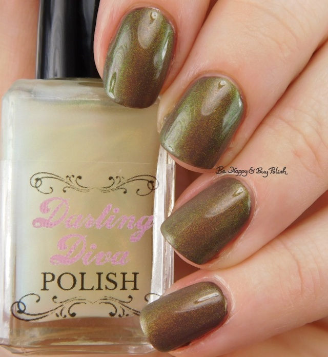 Darling Diva Polish Fairy Pee over brown | Be Happy And Buy Polish