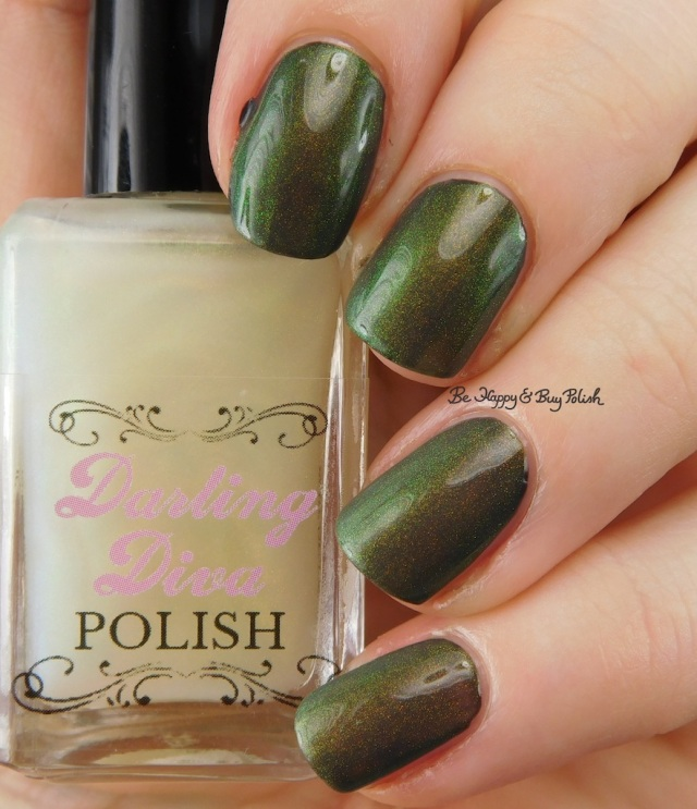 Darling Diva Polish Fairy Pee over grey | Be Happy And Buy Polish