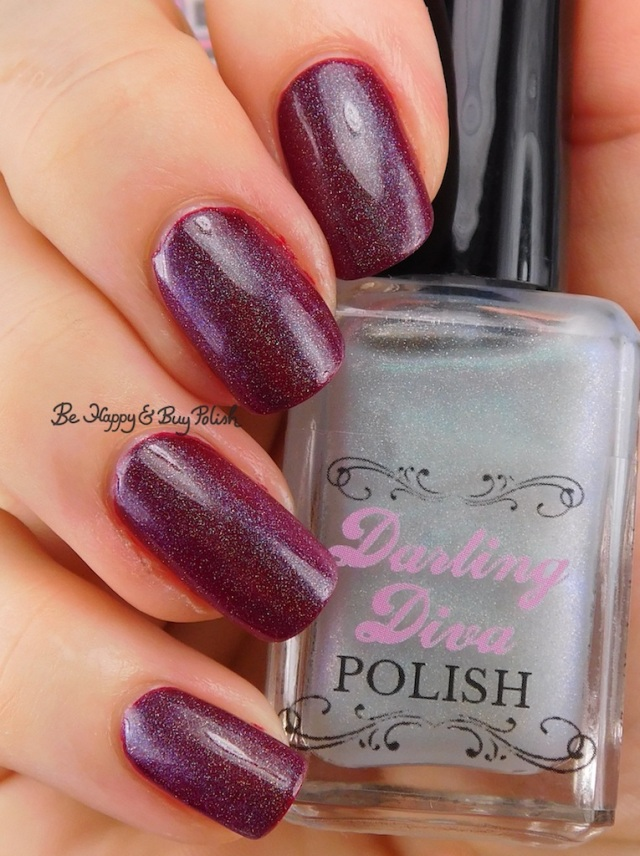 Darling Diva Polish Kelpie Pee holo over red | Be Happy And Buy Polish