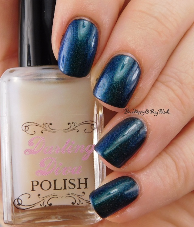 Darling Diva Polish Kelpie Pee over black | Be Happy And Buy Polish