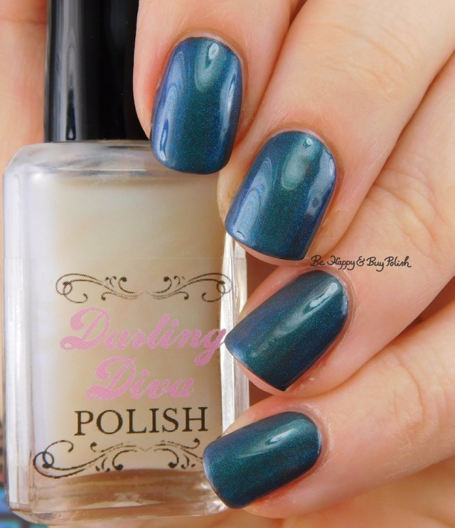 Darling Diva Polish Kelpie Pee over grey | Be Happy And Buy Polish