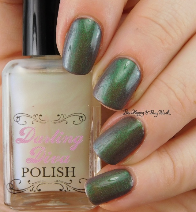 Darling Diva Polish Pegasus Pee over brown | Be Happy And Buy Polish
