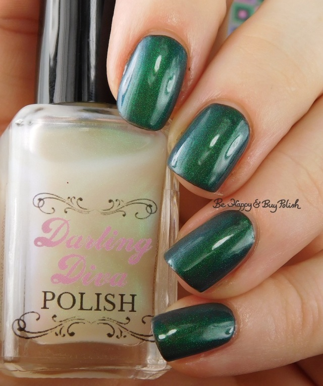 Darling Diva Polish Pegasus Pee over grey | Be Happy And Buy Polish