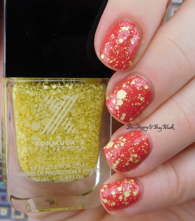 Formula X Mind Blowing over China Glaze Passion for Petals | Be Happy And Buy Polish