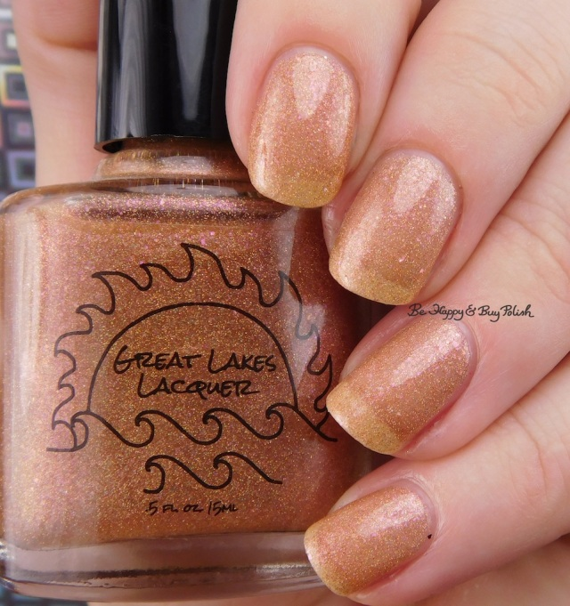 Great Lakes Lacquer Fools Gold | Be Happy And Buy Polish