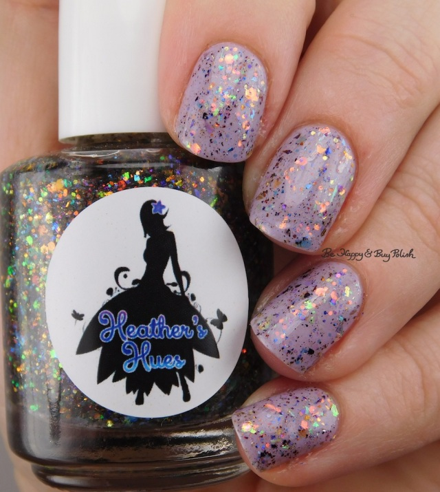 Heather's Hues Killer Costume Party over Scofflaw Nail Varnish Dust Bunny | Be Happy And Buy Polish | Be Happy And Buy Polish