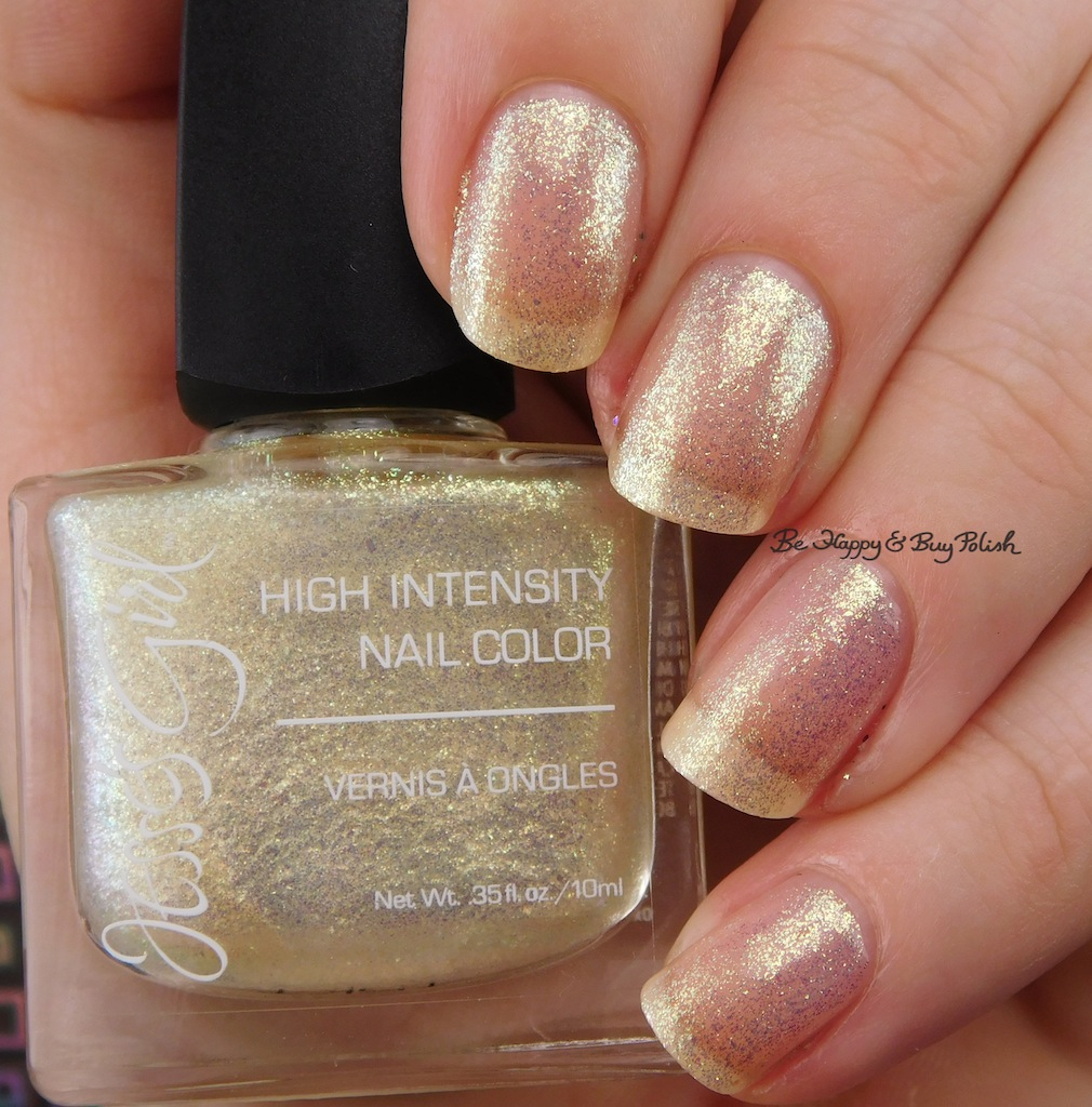 Jesse\'s Girl Fire Fly + Glee nail polishes swatch + review | Be ...
