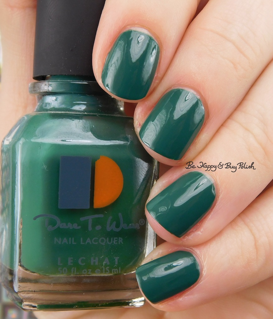 LeChat Dare to Wear creme polishes swatches + review | Be Happy and ...