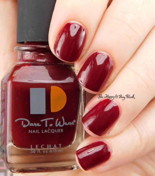Le Chat Dare to Wear Royal Red | Be Happy And Buy Polish