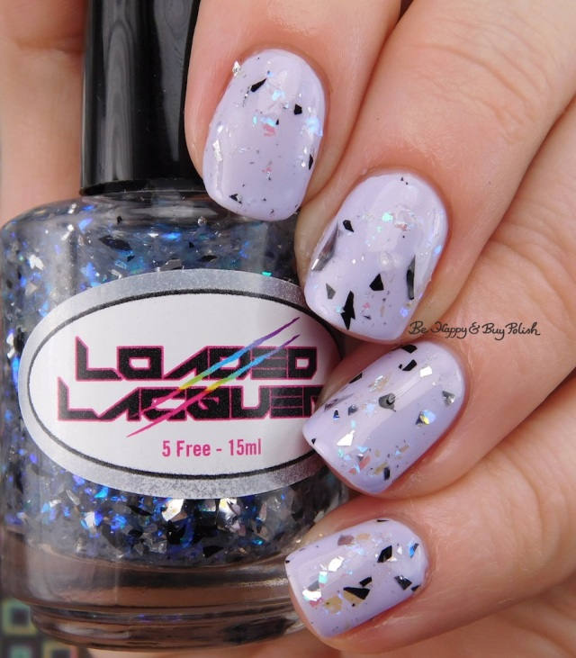 Loaded Lacquer Window Pain over Poetry Cowgirl Nail Polish Fields of Lavender | Be Happy And Buy Polish