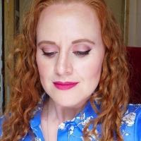 Makeup look with Wet N Wild Photo Focus Foundation Shell Ivory