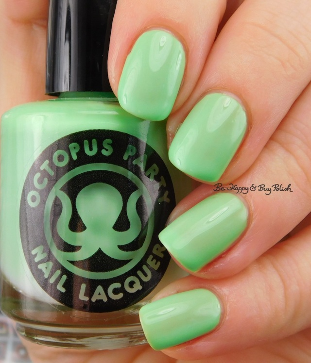Octopus Party Nail Lacquer The Algae-atic Sea | Be Happy And Buy Polish