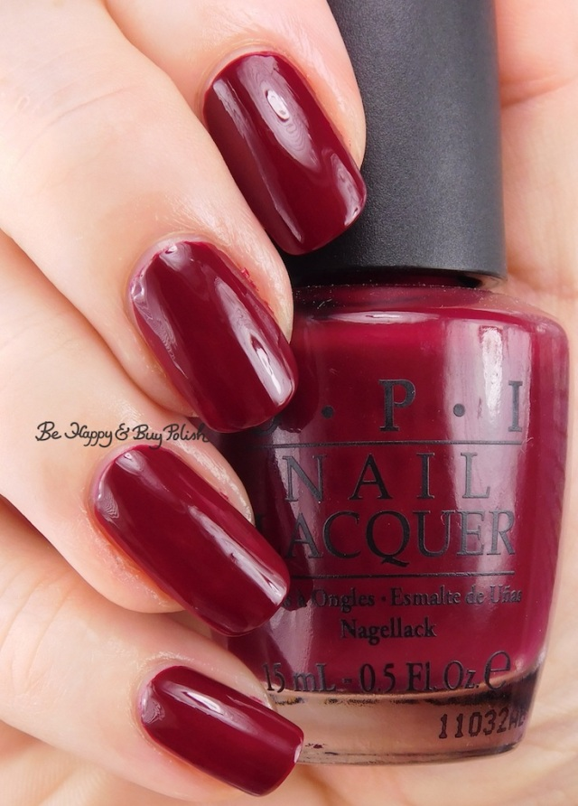 OPI Malaga Wine | Be Happy And Buy Polish
