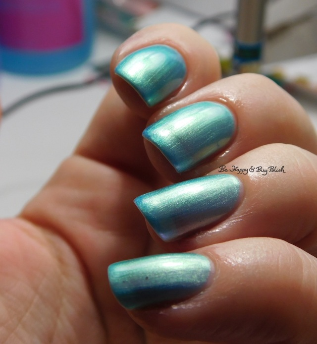 Orly Angel Rain green shift | Be Happy And Buy Polish
