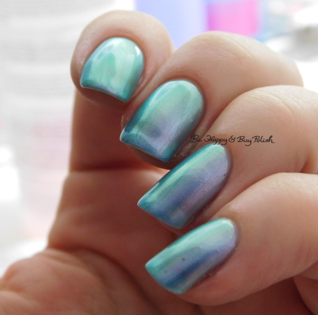 Orly Angel Rain green to pink shift | Be Happy And Buy Polish