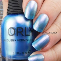 Orly Angel Rain swatch + review