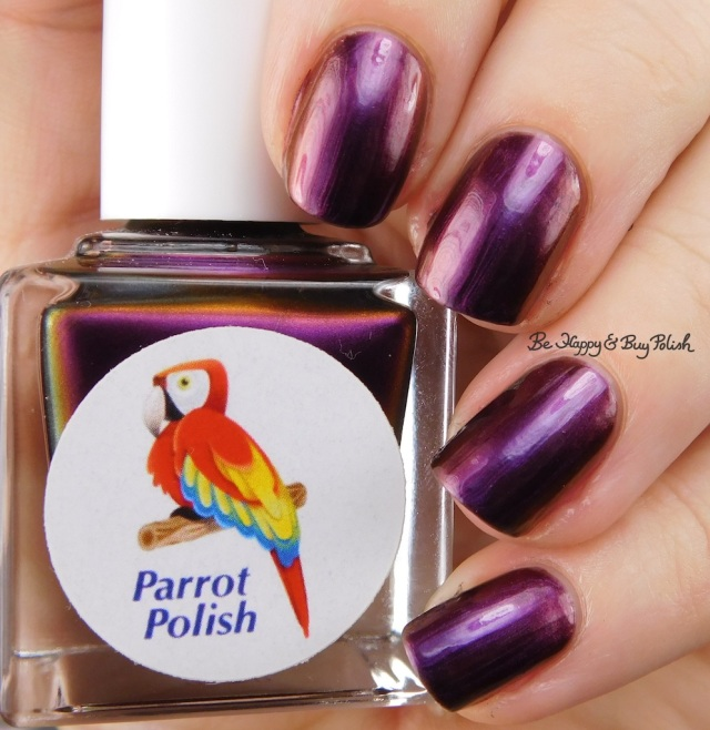 Parrot Polish Opulent Midnight | Be Happy And Buy Polish