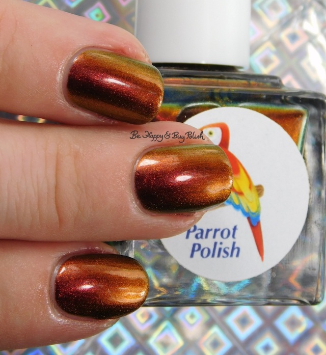 Parrot Polish Phoenix Rising lowlight | Be Happy And Buy Polish