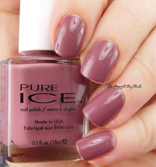 Pure Ice Head to Meadow Absolutely Mauvelous | Be Happy And Buy Polish