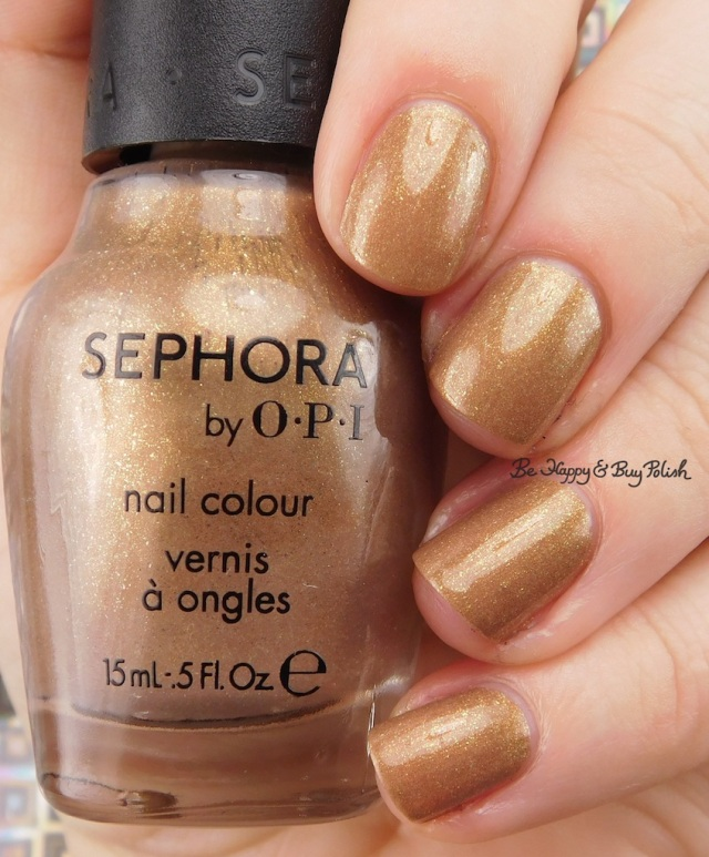 Sephora by OPI I Only Shop Vintage | Be Happy And Buy Polishs
