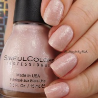 Sinful Colors The Full Monte swatch + review