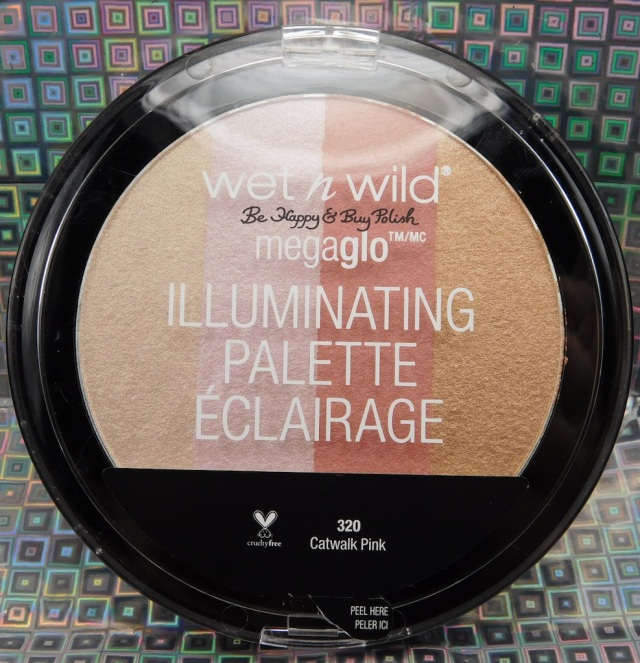 Wet N Wild Catwalk Pink MegaGlo Illuminating Palette | Be Happy And Buy Polish