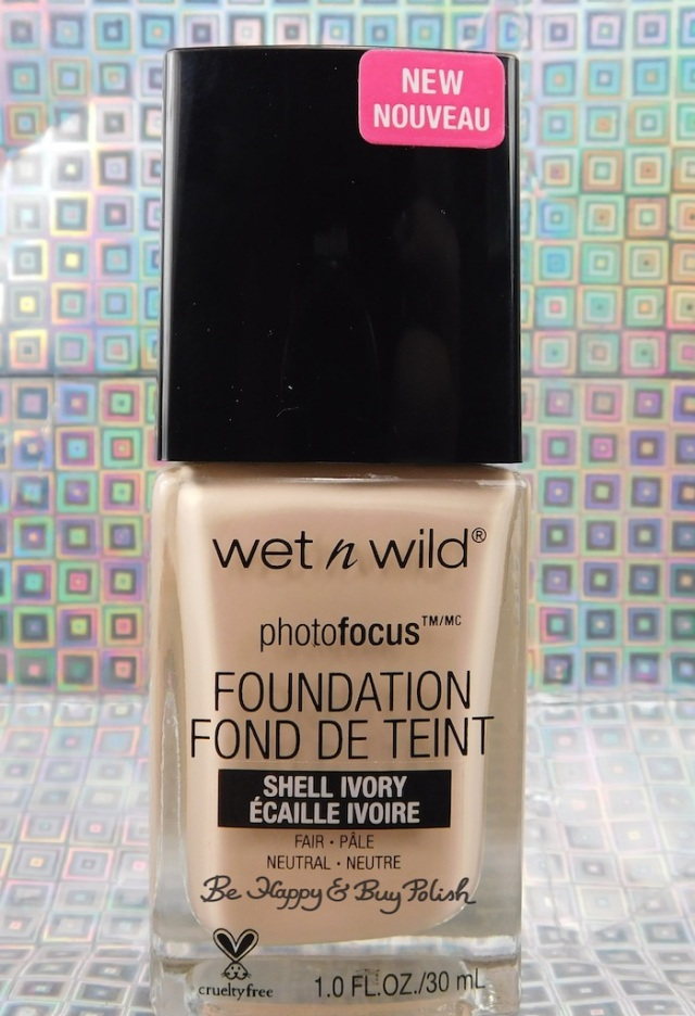 Wet N Wild Photofocus Foundation Shell Ivory | Be Happy And Buy Polish