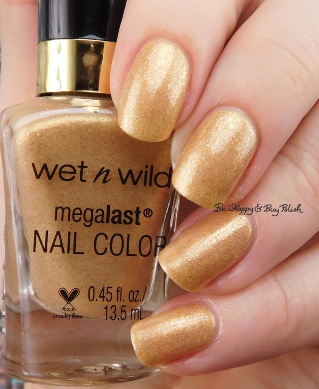 Wet N Wild Studio Glitter & Gold | Be Happy And Buy Polish