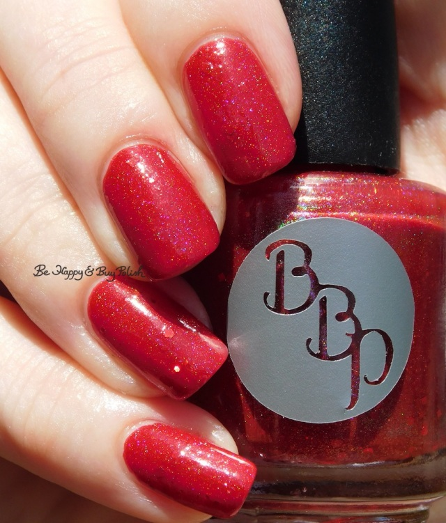 Bad Bitch Polish Ruby Slipper holographic | Be Happy And Buy Polish