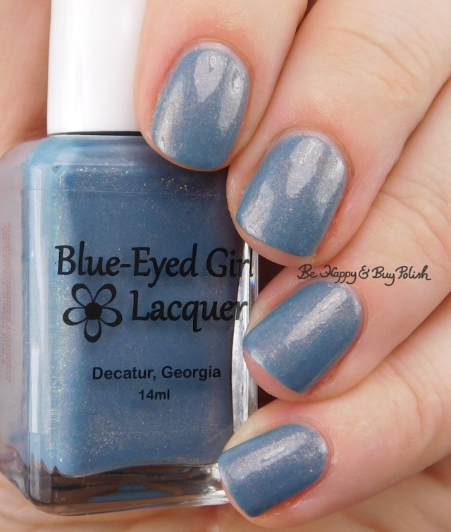 Blue Eyed Girl Lacquer Niagra Sunrise | Be Happy And Buy Polish