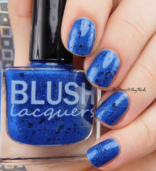 Blush Lacquers Blue A Fuse | Be Happy And Buy Polish