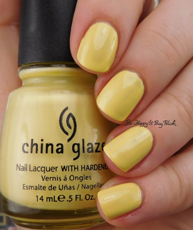 China Glaze Lemon Fizz | Be Happy And Buy Polish