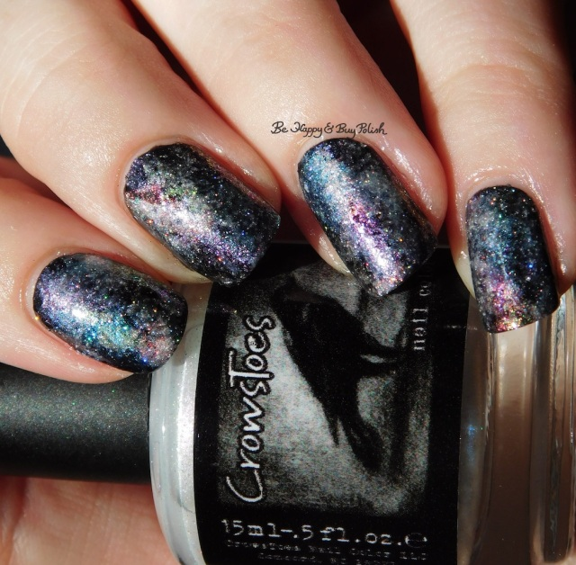 CrowsToes Pearls of Wisdom collection galaxy nail art sun photo | Be Happy And Buy Polish