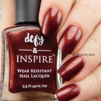 defy + Inspire For Those About to Frock swatch + review