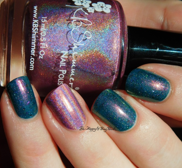 KBShimmer Peony Pincher, Tonic Nail Polish Guardians of the Tower holographic | Be Happy And Buy Polish