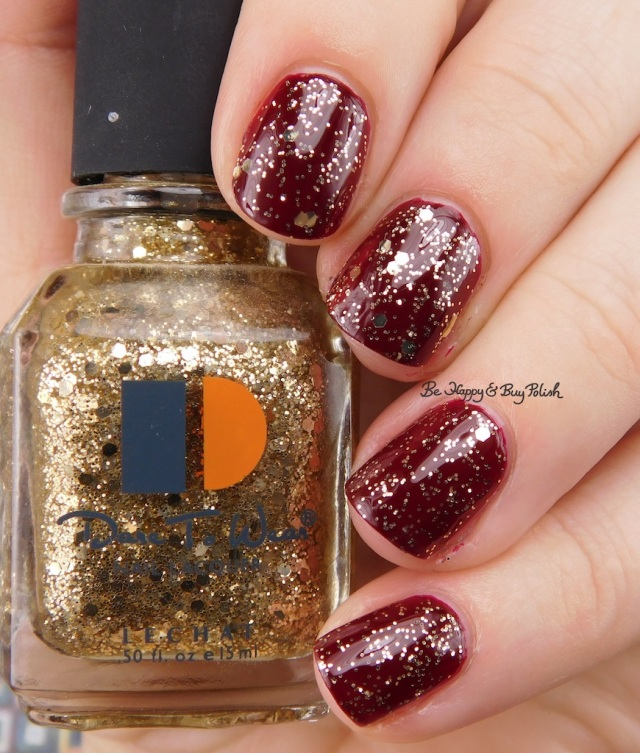 Le Chat Dare to Wear Queen of Drums over Royal Red | Be Happy And Buy Polish