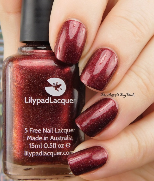 Lilypad Lacquer Sinner | Be Happy And Buy Polish